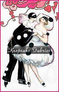 Deco Pink Periot Couple Fabric Applique Multi Sizes FrEE ShiPPinG WoRld WiDE