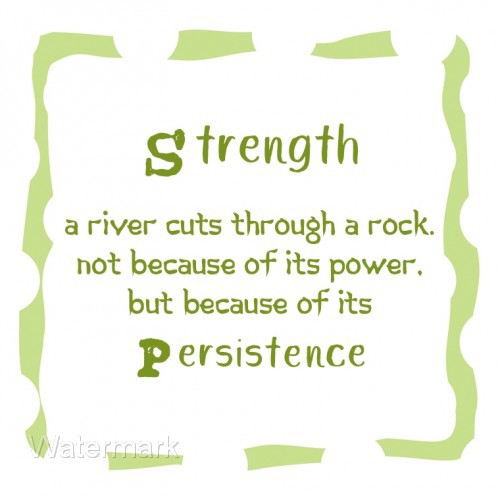 Strength Persistence Refrigerator Fridge Gift Magnet Free Shipping World Wide