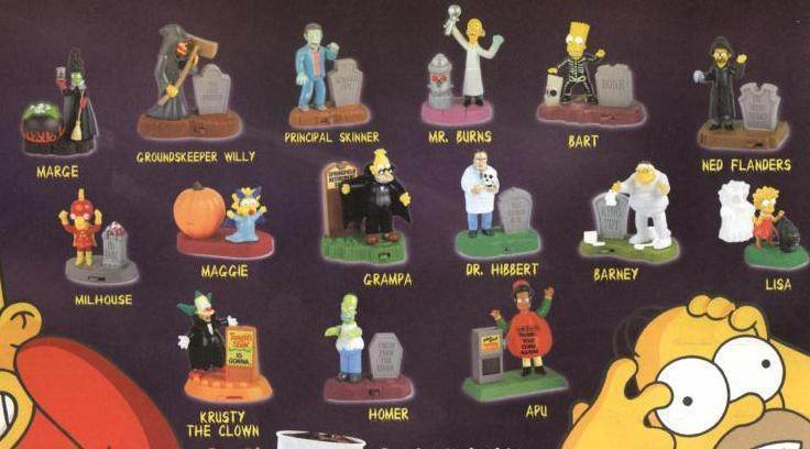 Burger King Halloween Toys 2020 Simpsons The Simpsons Super Hero toys now at Burger King
