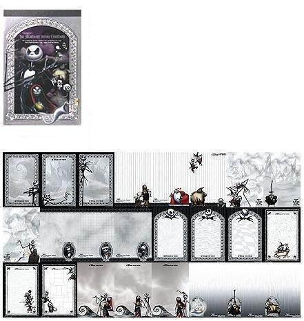 Nightmare Before Christmas All Stars VI Memo Pad (pic)