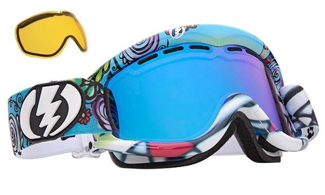 NEW-Electric-EG1-mirror-amp-extra-lens-mens-amp-womens-ski-snowboard-goggles-2012