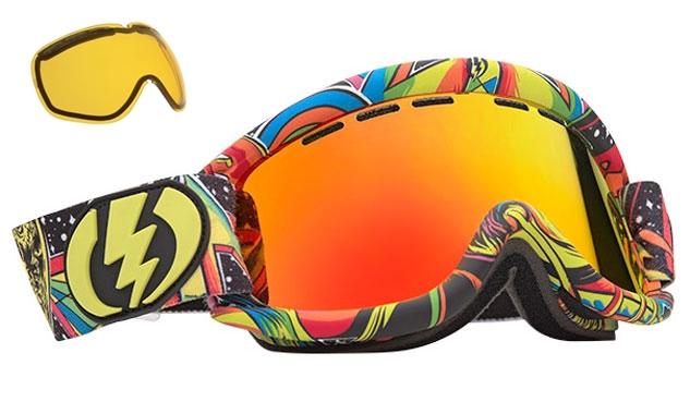 ski snowboard goggles  NEW Electric EG.5 mirror \u0026amp; extra lens mens \u0026amp; womens ski ...