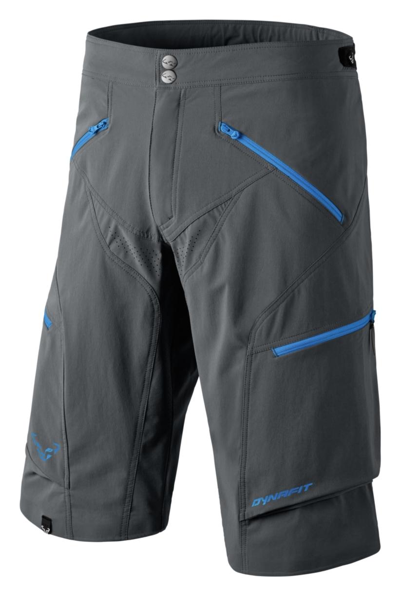 NEW Dynafit TRAVERSE Durastretch SoftShell Grau  Herren Large Hiking Shorts Ret130