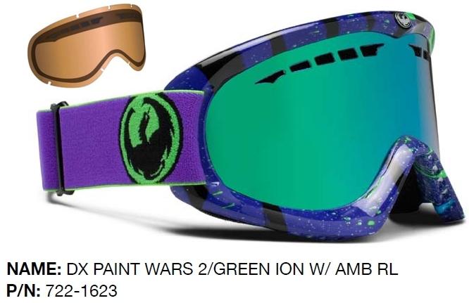 dragon ski goggles  NEW Dragon DX mirror \u0026amp; EXTRA lens mens ski snowboard goggles ...