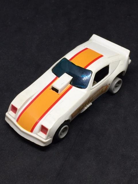 VINTAGE MATCHBOX CATCH-ME MONZA FUNNYCAR  SLOT CAR-img-0