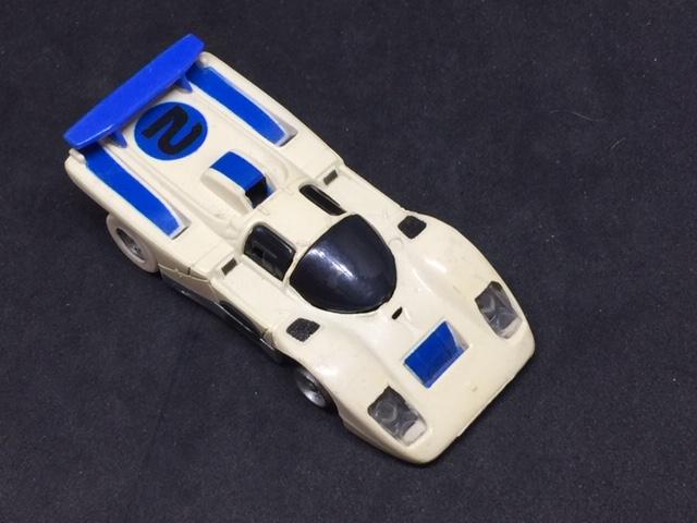 VINTAGE A/FX BLUE INDY RACE CAR NO. 2 SLOT CAR-img-0