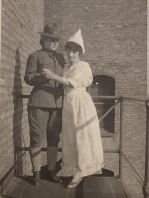 1900-1920 Photo AlbumYWCA Duluth Girl Gay Couple-img-0