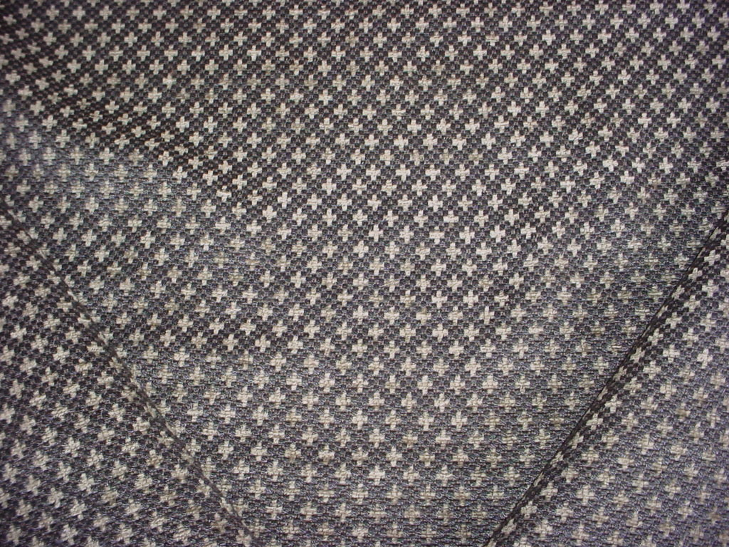 """Upholstery Chenille Grey Honeycomb Drapery home fabric by the yard 57/"""" Wide"""
