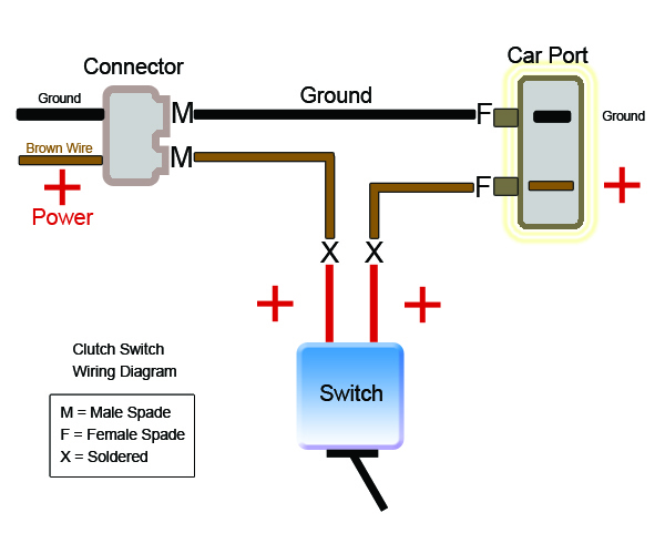 diagram clutch switch mod install guide photos (shift lag fix) Clutch Assembly Diagram at nearapp.co