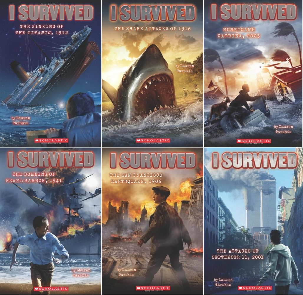 I Survived Collection Set 1-12 Books SEALED NEW! Lauren Tarshis ...