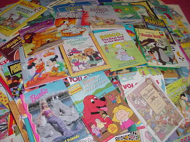 Details About Lot Of 100 Disney Golden Scholastic Learn To Read Mixed Set Kids Children Books