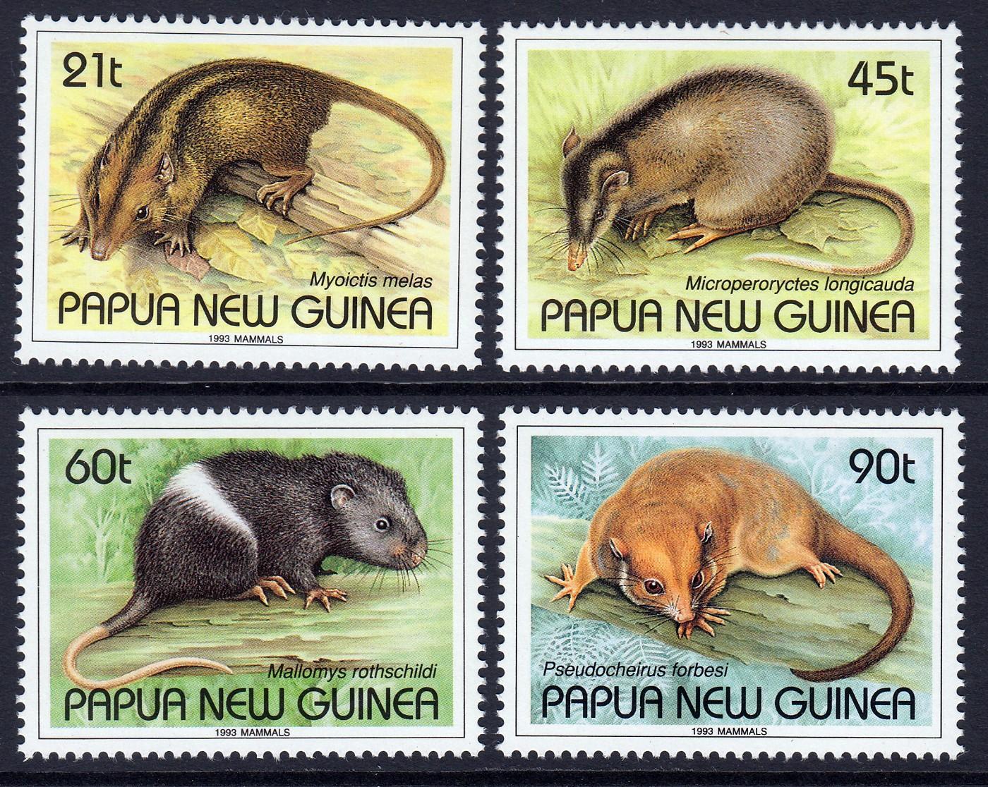 Papua New Guinea 1993 Mammals | eBay